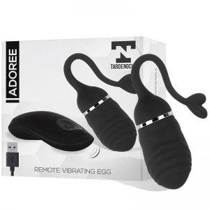 Adoree Huevo Vibrador USB Control Remoto USB Silicona de la marca TARDENOCHE