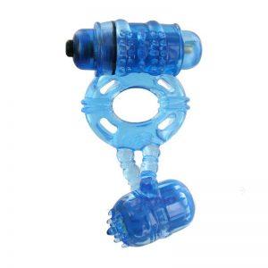 Anillo Double Ding Azul diseñado por la marca ALIVE