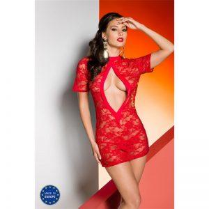 Rika Chemise Rojo diseñado por la marca AVANUA