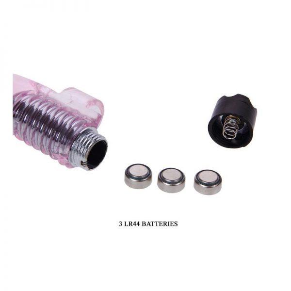 Baile Mini Vibrador Finger Vibrator Rosa de la marca BAILE
