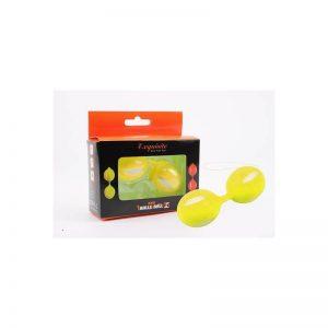 Bolas Ben Wa 10.3 cm Amarillo diseñado por la marca CHISA