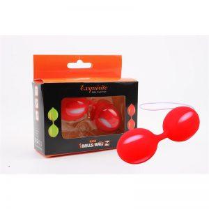 Bolas Ben Wa 10.3 cm Rojo de la marca CHISA