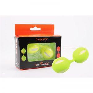 Bolas Ben Wa 10.3 cm Verde diseñado por la marca CHISA