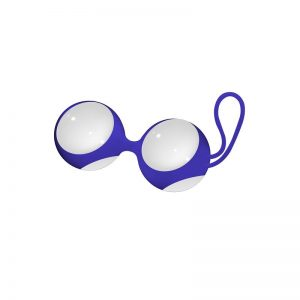 Bolas Ben Wa Grande Blanco diseñado por la marca CHRYSTALINO