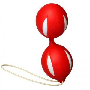 Bolas Ben Wa Orgasm Rojo 10 x 3.7 cm diseñado por la marca OHH TOYS