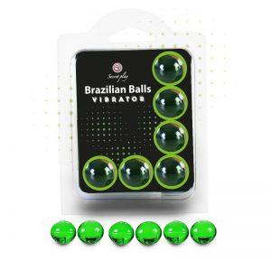 Brazilian Balls Set 6  Efecto Vibración diseñado por la marca SECRET PLAY
