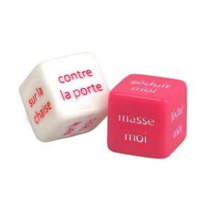 Dados Eróticos Francés diseñado por la marca ADRIEN LASTIC