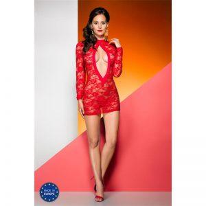 Evanue Rayen Chemise Rojo diseñado por la marca AVANUA