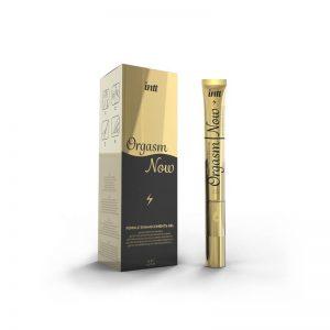 Gel Sensibilizante con Punta Vibradora Orgasm Now 15 ml de la marca INTT