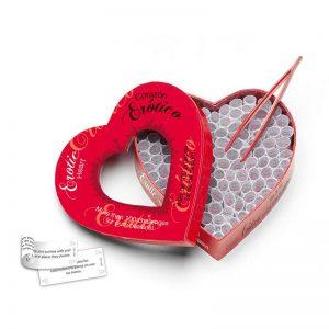 Juego de preguntas Erotic Heart (EN-ES) marca TEASE & PLEASE