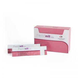 Lubricante Efecto Calor Feminil Lube 10 Monodosis 5 ml diseñado por la marca 500 COSMETICS