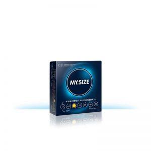 My Size Preservativos Naturales de Látex Talla 53 Caja de 3 Unidades barato