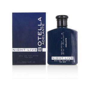 Perfume con Feromonas Night Live Men 100 ml de la marca COBECO PHARMA
