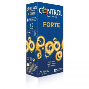 Preservativos Forte 12 unidades diseñado por la marca CONTROL