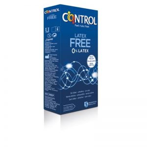 Preservativos Sin Látex 5 unidades diseñado por la marca CONTROL