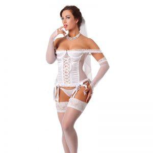 Rimba Amorable Disfraz de Novia Color Blanco diseñado por la marca AMORABLE