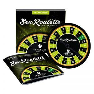 Sex Roulette Preliminares diseñado por la marca TEASE & PLEASE